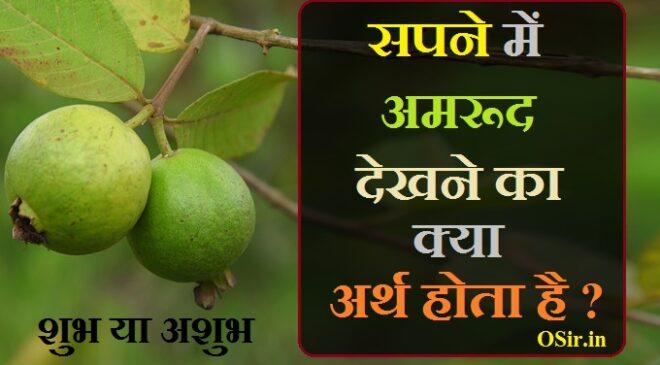 सपने में अमरूद देखने का क्या मतलब अर्थ होता है ? स्वप्न में अमरूद शुभ या अशुभ होता है ? What does it mean to see Guava in a dream hindi?